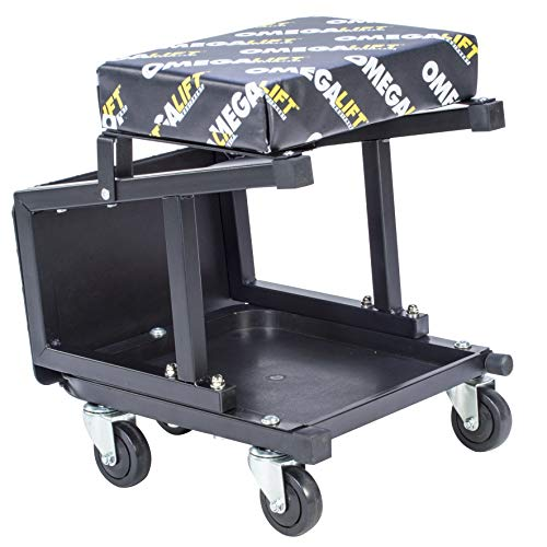 OMEGA LIFT 91305 2-in-1 Mechanics Creeper Seat