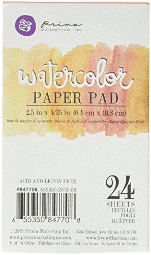 Prima Marketing Watercolor Paper Pad 2