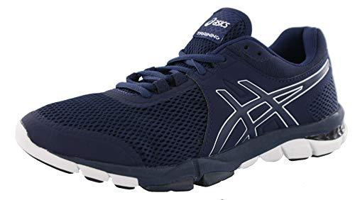 ASICS Gel-Craze TR 4 - Zapatillas de entrenamiento cruzado para hombre, Azul (Azul marino/Blanco), 42.5 EU