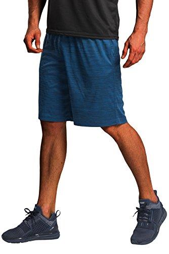 CYZ Collection CYZ Men's Performance Jersey Short-Blue Melange-L