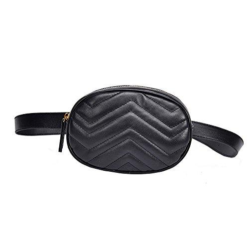 TEBAISE 2018 Mode Damen Hüfttasche Gürteltasche Bauchtasche Geldbörse Ovale Geldbörse Mini Handy Tasche Stern Absatz Brustbeutel ovalen Taschen umhängetasche damen klein handtasche Mini Clutch Bag