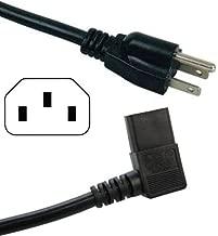 HQRP AC Power Cord for Vizio M550SV VL420M-M VL470M-M XVT323SV XVT373SV XVT3D424SV HDTV TV LCD LED Plasma Mains Cable + HQRP Coaster