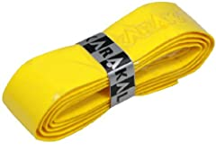 The No.1 PU Grip for all racket sport players Excellent reviews Suitable for all racquet sports Color : Yellow