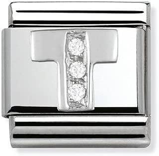 Composable Classic acier Cub Zircon et argent 925 C Art : 330301/_03
