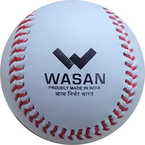 WASAN Baseball PVC Soft Center Official Size 9 Inch