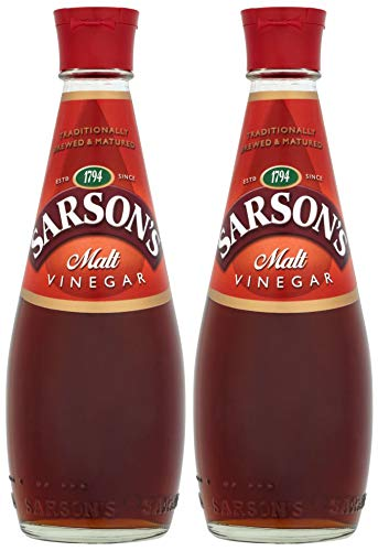 Sarson´s Malt Vinegar 2x 250ml Glasflasche