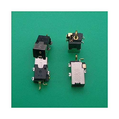 SUFAN 5PCS DC Power Jack Fit For Lenovo Ideapad 100S-14IBR 110S-11ibr DC Connector Laptop Socket Power Replacement