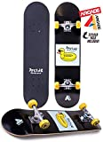 Arcade Pro Skateboard 31' Standard Complete Skateboards Professional Complete Board w/Concave - Skate Boards Great for Beginners, Adults, Teens, Youth & Kids (7.75' Duck Float)