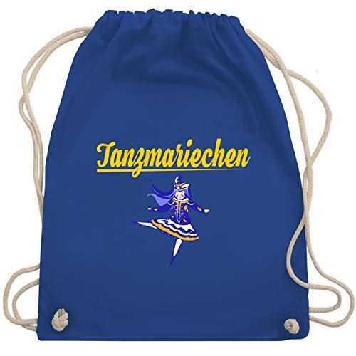 Shirtracer Karneval & Fasching - Tanzmariechen blau - Unisize - Royalblau - turnbeutel karneval - WM110 - Turnbeutel und Stoffbeutel aus Baumwolle