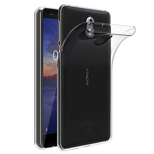 VGUARD Cover Nokia 3.1 / Nokia 3 2018, Cover Nokia 3.1 Silicone Case Molle di TPU Trasparente Sottile Custodia per Nokia 3.1 / Nokia 3 2018