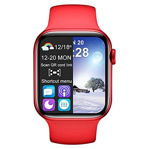 FZXL T500 Plus Smart Watch es Adecuado para iOS y Android PK W26 W46 X7 Pulsera Deportiva para Hombres y Mujeres con Llamada Bluetooth,A