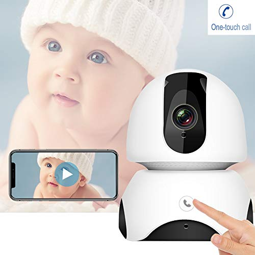 ZTKBG Draadloze babymonitor 2MP FHD babyslaapmonitor Nanny IP-camera auto tracking one-touch all-twee-weg audio intercom-Baby-telefoon