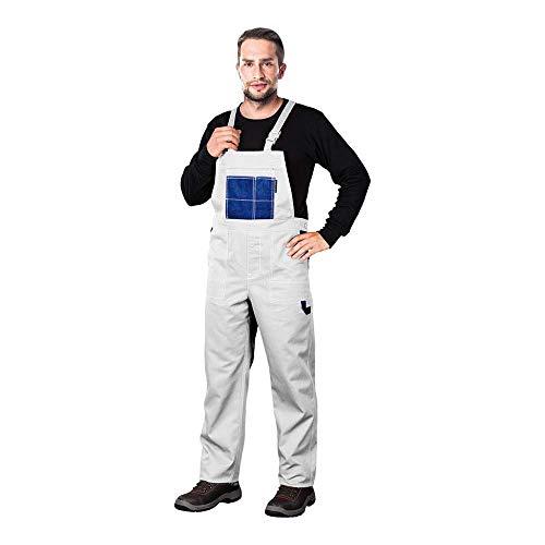 Reis MMSWN_62 Multi Master Schutzlatzhose, Weiß-Blau, 62 Größe