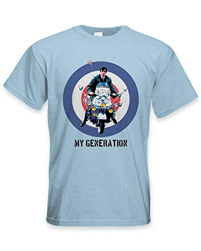 My Generation Mod Scooter - Camiseta para hombre - Jam Fashion The Who Quadrophenia