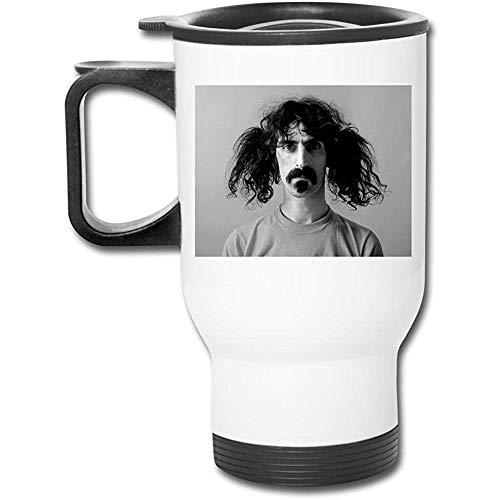 Bert Austin Bottiglia da acqua in acciaio inossidabile isolata sotto vuoto Frank Zappa Fashion Glassata per auto Tazza per caffè o tè bianco