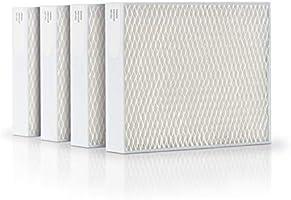 Stadler Form bevochtiger filters, efficient en hygiënisch, geschikt voor Oskar klein, Oskar en Oskar groot, set van 4, wit
