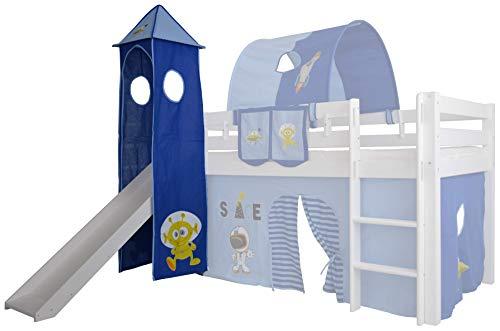 Mobi Furniture Tower Space voor hoogslaper holle speeltoren stapelbed kinderbed