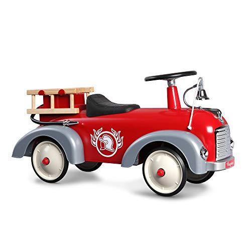 Baghera 838 - Speedster Pompier Porteur multidirectionnel, Nombreux accessoires réalistes, À...