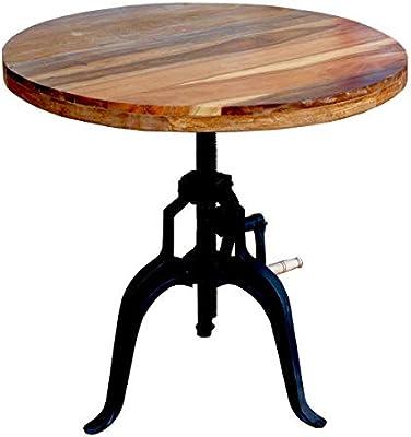 MATHI DESIGN Tisch höhenverstellbar Kurbel: Amazon.de