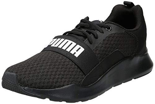 PUMA Wired, Zapatillas Unisex Adulto, Negro Black Black Black, 43 EU