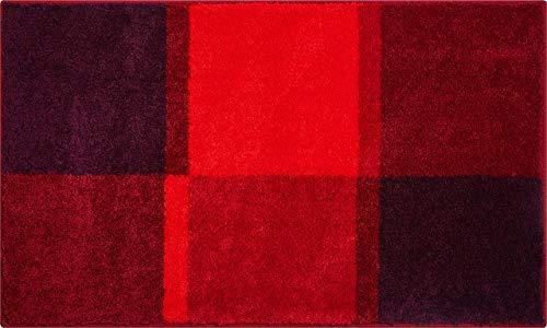 Grund badmat 100% polyacryl, ultra zacht, antislip, ÖKO-TEX-gecertificeerd, 5 jaar garantie, Fantasie, badmat 60x100 cm, groen