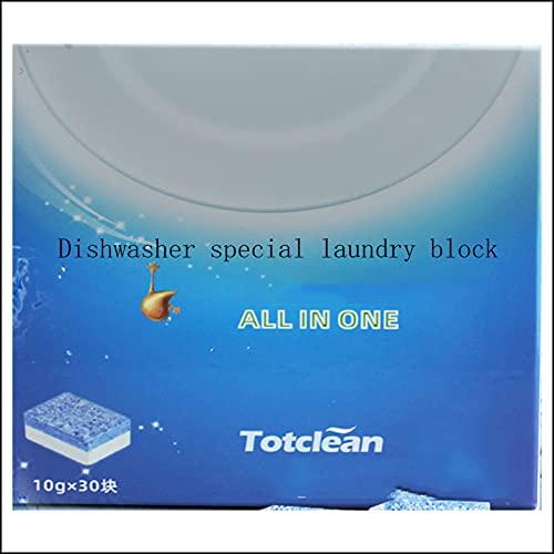 LUWEI Detergente lavavajillas-Powerball-Pastillas lavavajillas-Agente lavavajillas, Aroma Fresco, 30 tabletas por Caja (Dos Cajas)