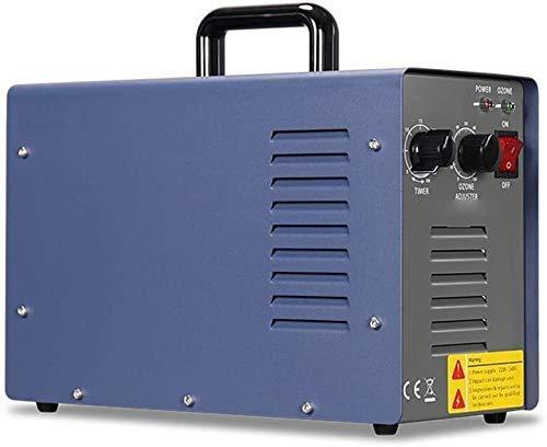 Generador de ozono portátil, ionizadores de Aire domésticos comerciales de Alta Capacidad de 7000 MG para Habitaciones, purificador de Aire de Coches de Humo y Mascotas