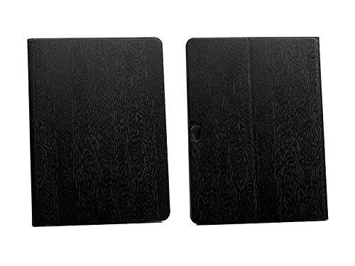 etuo Hülle für Huawei MediaPad M2 10.0 - Hülle Flex Book - Schwarz - Handyhülle Schutzhülle Etui Hülle Cover Tasche für Handy