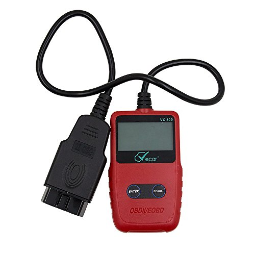 Greyghost VC309 Car ODB2 Tool OBD II EOBD Car Diagnostic Tool Code Scanner Fault Reader