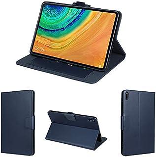 wisers 保護フィルム・タッチペン付き MatePad Pro MRX-W09 10.8 インチ Huawei ファーウェイ タブレット ケース カバー [2020 年 新型] ダークブルー