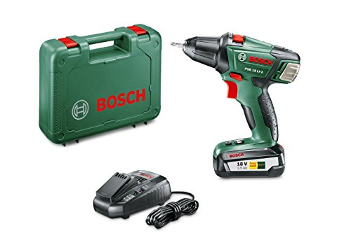 Bosch Expert PSR 18 LI-2 accu-boormachine 1 accu (2,5 Ah) Basic zwart, groen, rood