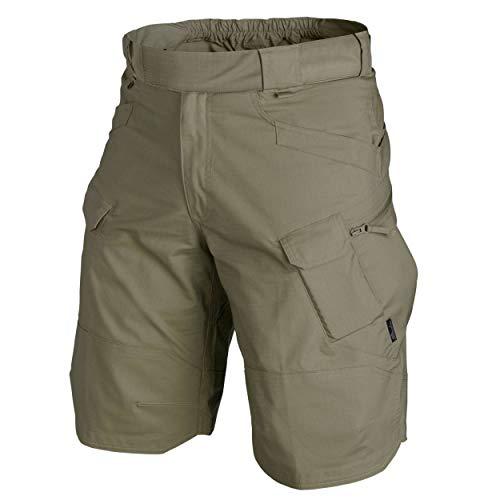 'Helikon Öko-Tex Urban Tactical Pantalones Cortos® 11–Polialgodón Ripstop–Adaptive Green