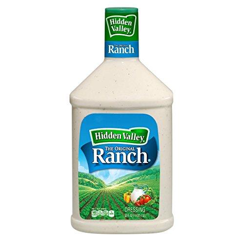 Hidden Valley Original Ranch Salad Dressing & Topping, Gluten Free, 52 Fl Oz Bottle