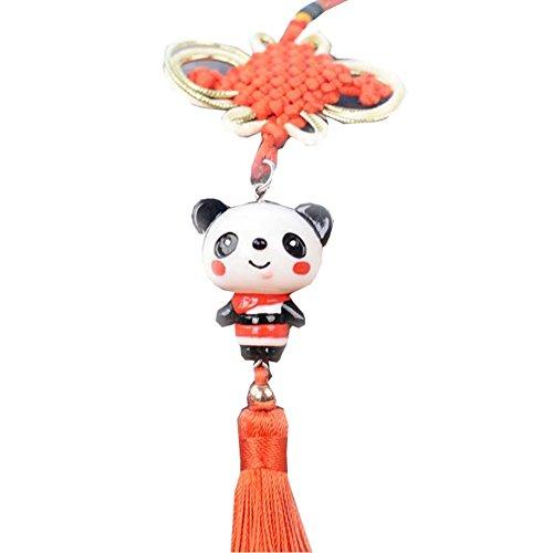 East Utopia Panda Pendentif Voiture Pendaison Ornements Accessoires Panda