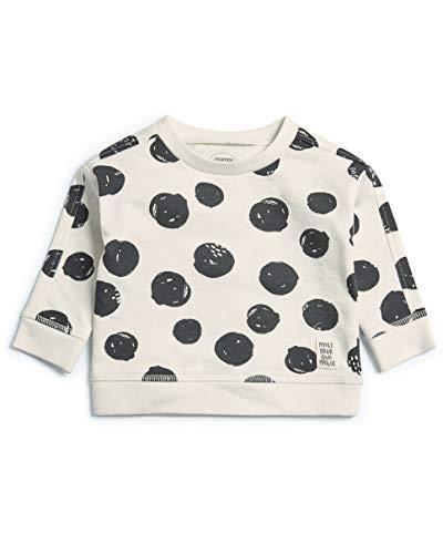 Mamas & Papas Welcome to The World Sweat-Shirt À Capuche, Multicolore (Black/White 3), 3-6 Mois Mixte bébé