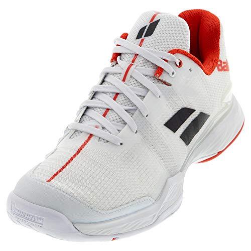 Babolat Herren Jet MACH II All Court Men Tennisschuhe, White/White, 44.5 EU