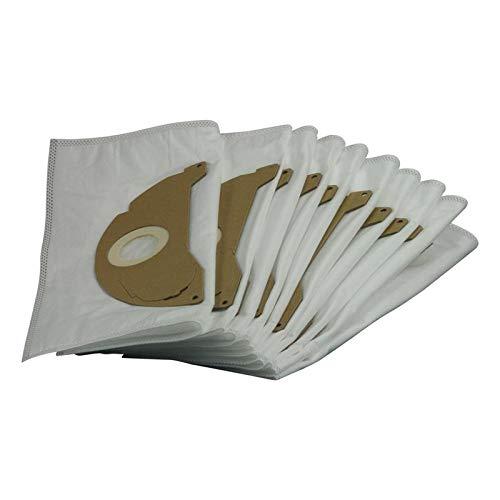 10x bolsas filtrantes para aspiradoras Kärcher A 2003 2004 2014 CV 2024 pt A 2054 Me Inox 2064 pt 2024 2074 pt