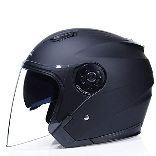 Motorradhelm Roller Motorradhelm Doppelscheibenschirm Motorradhelm, 5_XL