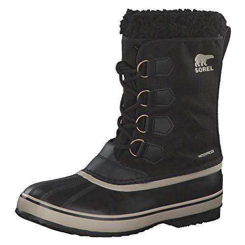 Sorel Men's 1964 Pac Nylon Winter Boot Blk/Fossil 10 Medium US