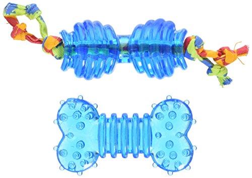 Petstages #234 Ultra Mini Orka Chew Pack, kauwspeelgoed voor honden, hondenspeelgoed blauw