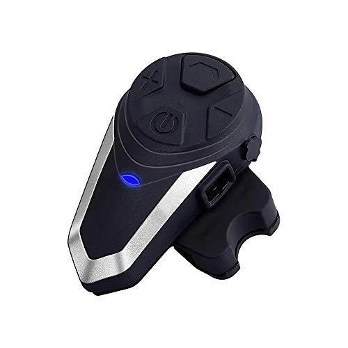 1000 m casco de la motocicleta BT intercomunicador impermeable FM inalámbrico Interphone