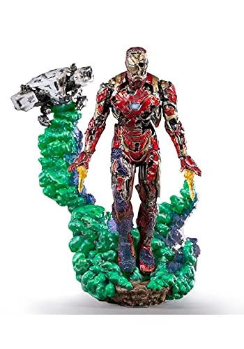 Iron Studios- Figura BDS Art Scale 1/10 Marvel Spider Iron Man Illusion (Kli087)