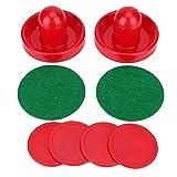 Wilecolly Spacciatori di Hockey ad Aria, Portieri di plastica Leggera Portieri di Hockey su Ghiaccio Set di Dischi di Ricambio per tavoli da Gioco(S)
