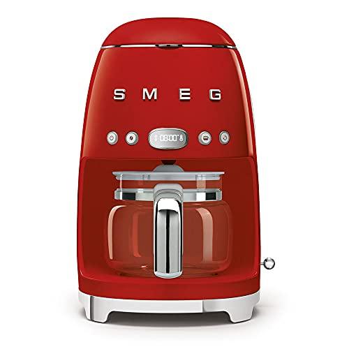 Smeg DCF02RDEU DCF02RDEU/PGAU/WHAU/CRAU/PBAU/SSAU Cafetera de filtro, acero