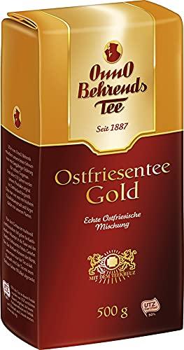 Onno Behrends Ostfriesentee Gold | Loser Tee 500g | Vegan | Glutenfrei | Laktosefrei