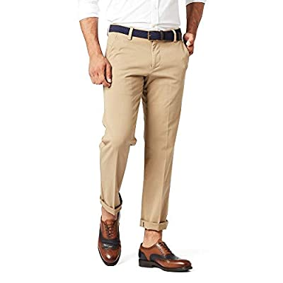 Dockers Men's Slim Fit Workday Khaki Smart 360 Flex Pants, New British (Stretch), 34W x 32L from Dockers Men's Bottoms & Tops