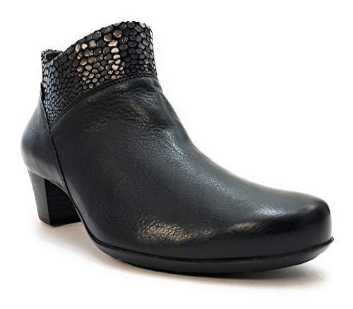 Mephisto - Boots Cuir Michaela - Noir - 40-6.5