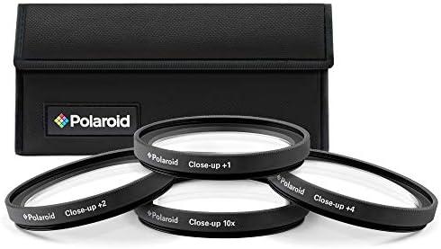 Polaroid Optics 40 5mm 4 Piece Close Up Filter Set 1 2 4 10 product image