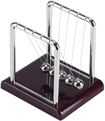 Pliers Berceau Balance Newton Ball, drôle Pendule à Billes en Acier Jeu de Bureau (A)