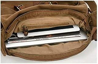 [H9976] Shoulder Bag for Women - Canvas, Brown
